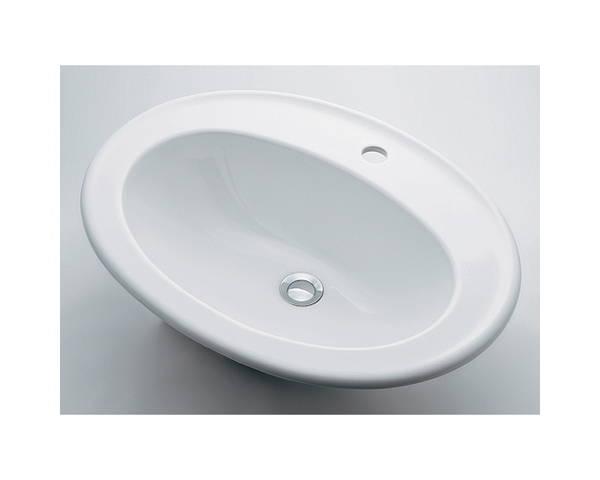 丸型洗面器1ホール #DU-0472620000【カクダイ】