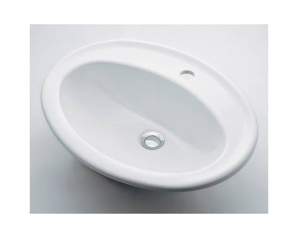 丸型洗面器1ホール #DU-0472560000【カクダイ】