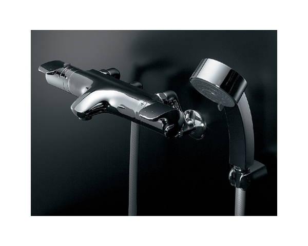 サーモスタット シャワー混合栓 173-214【カクダイ】