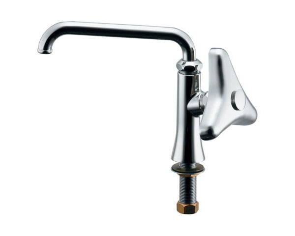 厨房用立形自在水栓(どっか?ん) 700-727-13【カクダイ】