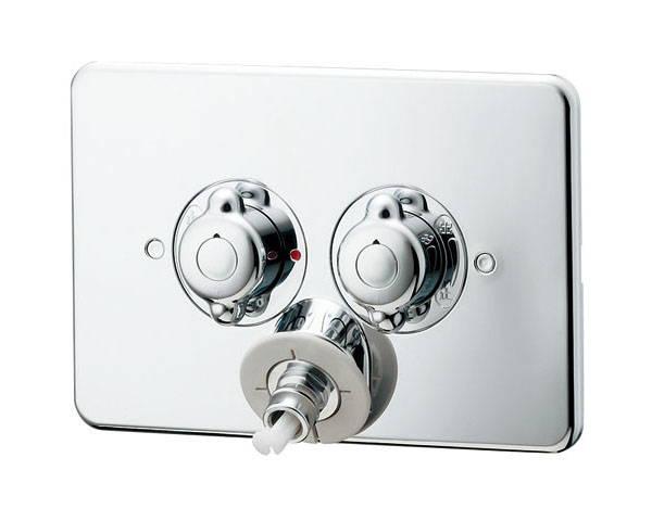 洗濯機用混合栓天井配管用 127-103【カクダイ】