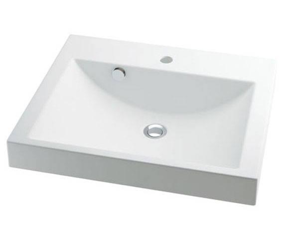 角型洗面器 493-072【カクダイ】