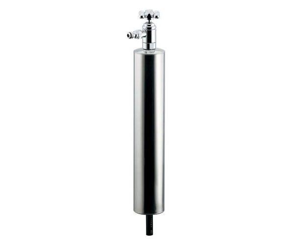 上部水栓型ステンレス水栓柱(ショート型) 624-083【カクダイ】