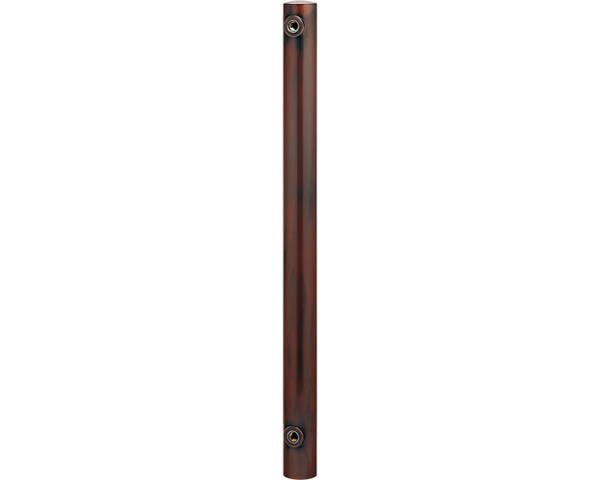 ステンレス水栓柱(丸型)ブロンズ 624-041【カクダイ】