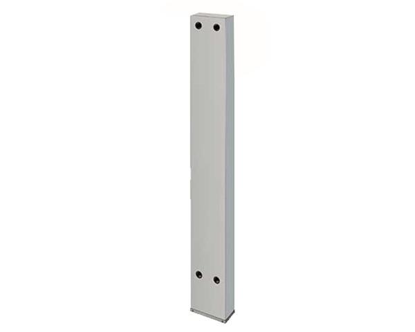624-550-150 厨房用ステンレス水栓柱(横形水栓用)//20【カクダイ】