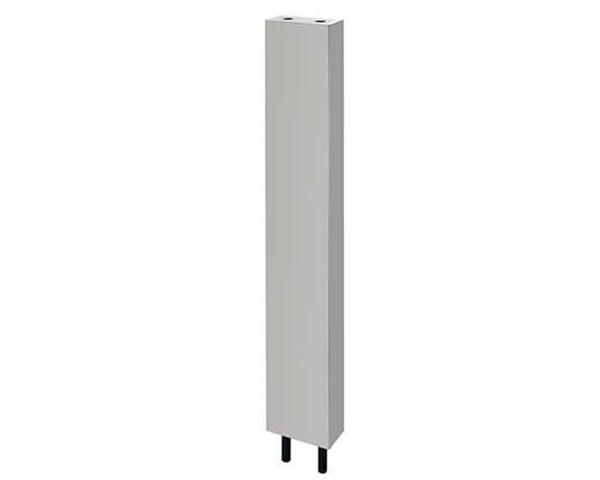 624-660S-120 厨房用ステンレス水栓柱(立形水栓用)//20【カクダイ】
