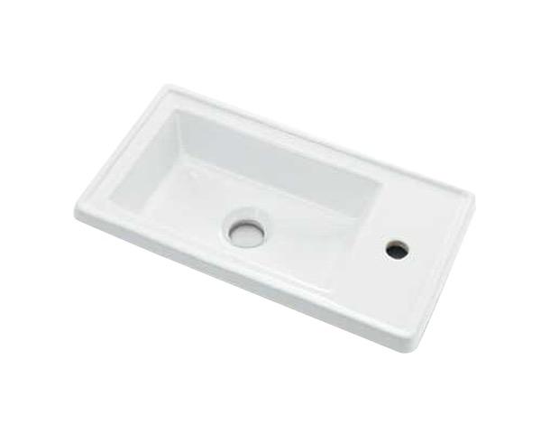 493-154 角型手洗器【カクダイ】