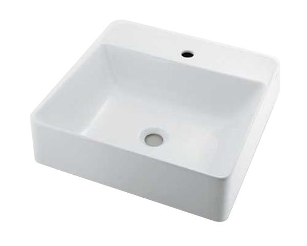 #LY-493211 角型洗面器【カクダイ】