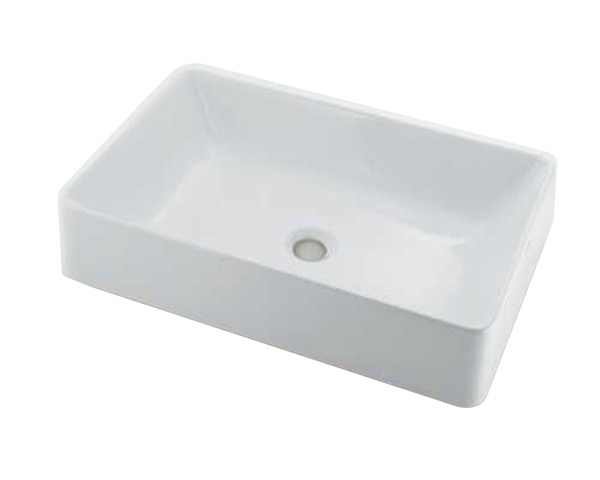 #LY-493212 角型洗面器【カクダイ】