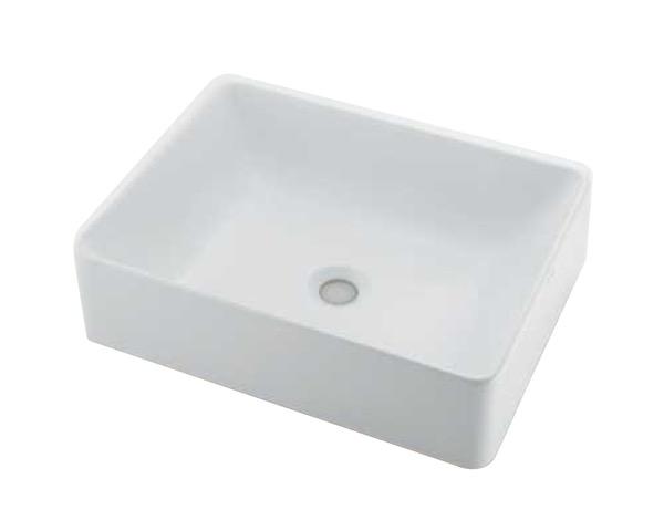 #LY-493213 角型洗面器【カクダイ】