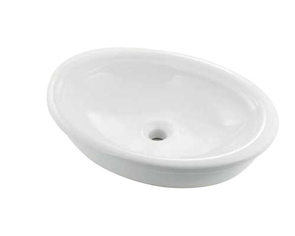 #LY-493216 丸型洗面器【カクダイ】
