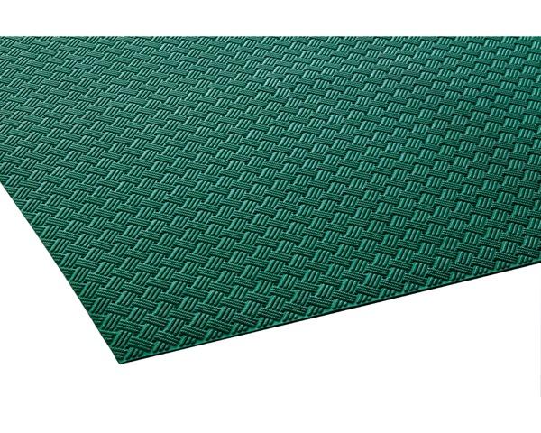 MR1590001 ダイヤマットグリッド緑920mm×10m約3.2mm【テラモト】