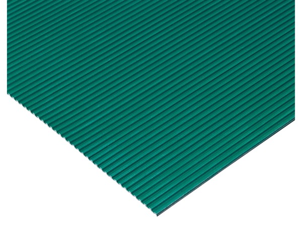 MR1422201 筋入ゴム5mm厚緑1.2m×20m約5mm【テラモト】