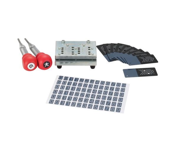 UB2702100 カードロック傘立用スペアカードキー作成器具【テラモト】