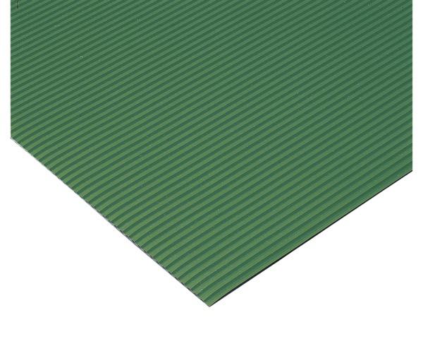 MR1410561 ビニール長マットB山緑910mm×20m約1.8mm【テラモト】