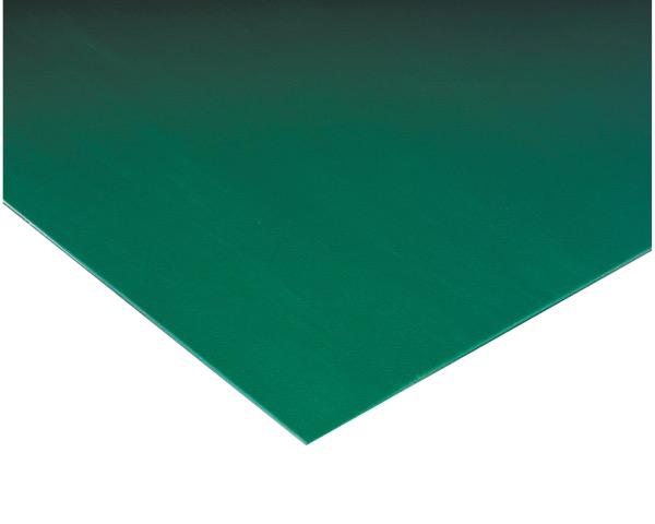 MR1412561 ビニール長マット平板緑910mm×20m約1.4mm【テラモト】