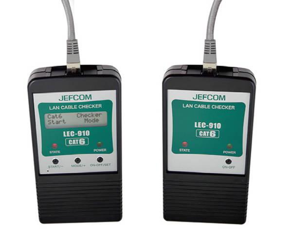 LEC-910 LANケーブルチェッカー