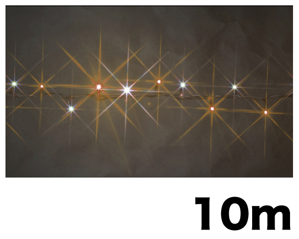 SJ-E05HG-10WLLEDルミネーション(連結タイプ)LEDストリング(HGタイプ)【ジェフコム】