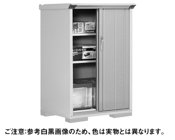 GP-97CFMW小型収納庫920×750×1400 扉MW色【田窪工業所】