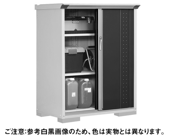 GP-116CFDB小型収納庫1120×650×1400 DB色【田窪工業所】