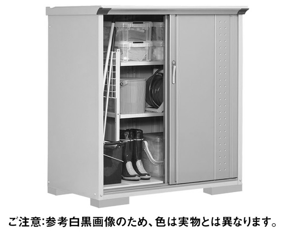 GP-137CTCB小型収納庫1304×750×1400 CB色【田窪工業所】