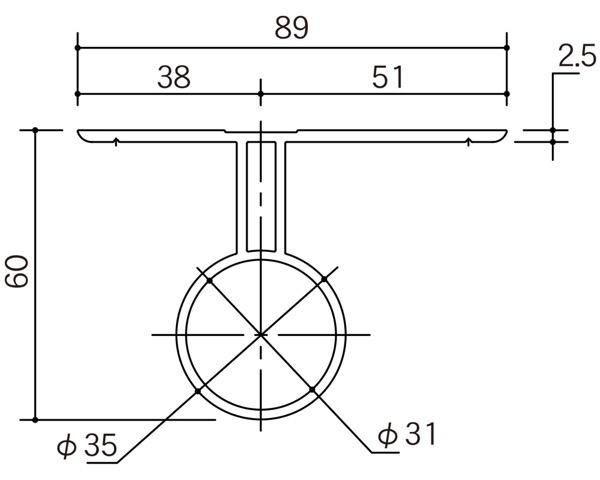 リフォバー O-型35×2500STカラー【エイト】