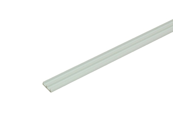 1595 ホワイトガラス戸レール5下 新生活 驚きの値段で 2000mm 光モール