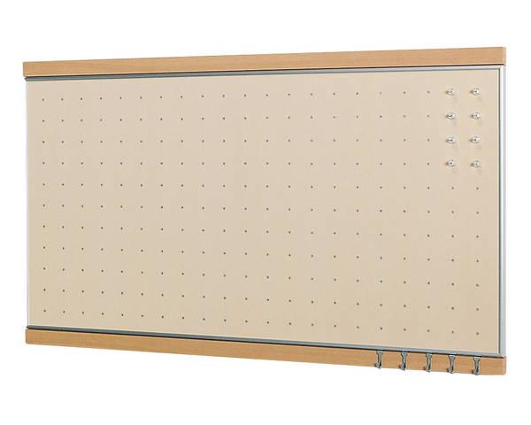 フック付マグボード450x900ナチュラル【ベルク】