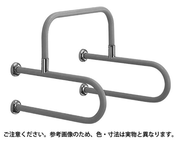 NO-857 D型丸棒手摺(小便器用)アイボリ【シロクマ】