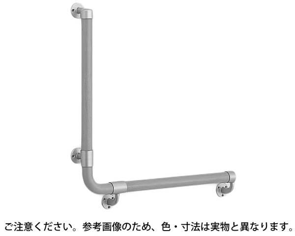 BR-515L L形丸棒手摺(左)600×600AG/Mオーク【シロクマ】