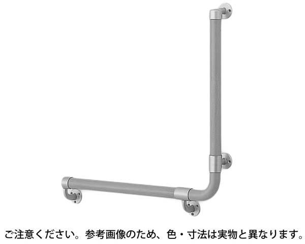 BR-515R L形丸棒手摺(右)600×600AG/Mオーク【シロクマ】