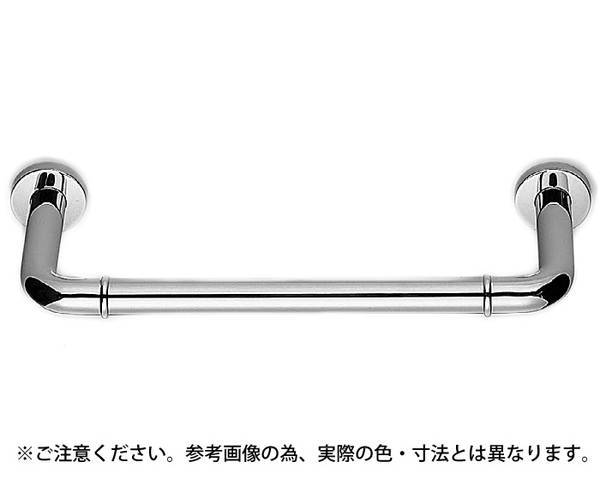 NO-700 丸棒ニギリバー(150ミリ)800ミリクローム【シロクマ】