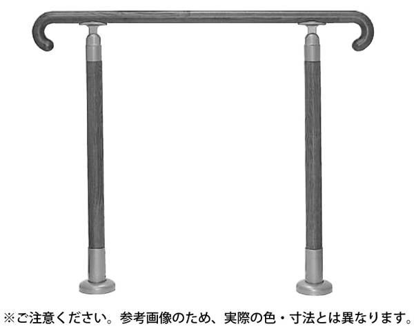 GK-102 玄関用手摺750ミリライトオーク【シロクマ】