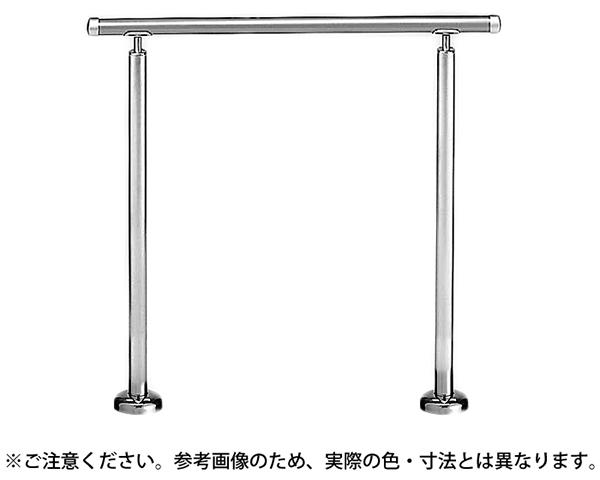 AP-60B アプローチ手摺(B)シルバー/HL【シロクマ】
