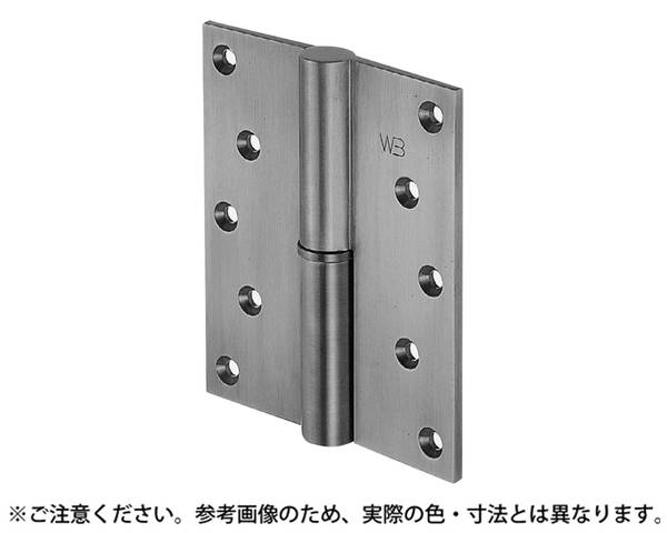 BB-102 異形二管丁番(左)127×102仙徳【シロクマ】