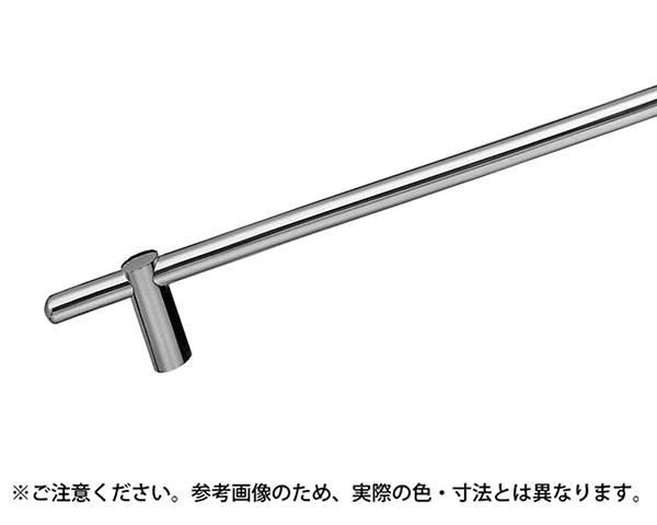 BT-8 カプセルタオル掛600ミリクローム【シロクマ】