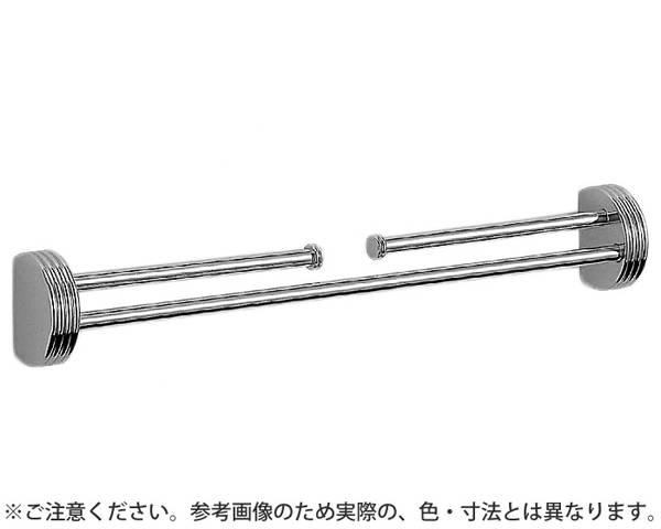 NH-1 ナポリ二段掛棒350ミリクローム【シロクマ】