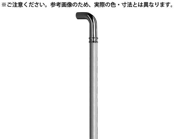 NO-253G G形丸棒取手 大 ミガキ【シロクマ】
