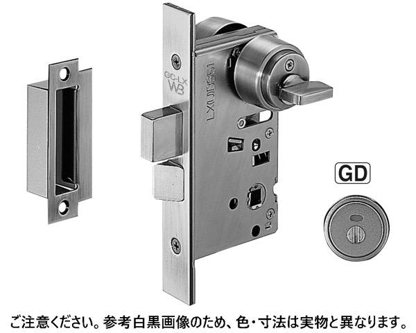LX-45 GD表示錠(LX45)BS51ブラック【シロクマ】