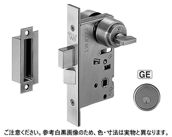 LX-4 GE間仕切錠(LX4)BS51ゴールド【シロクマ】