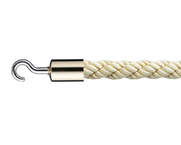 FPR-25Cパーティションロープ径25×1200ミリ 金・ゴールド