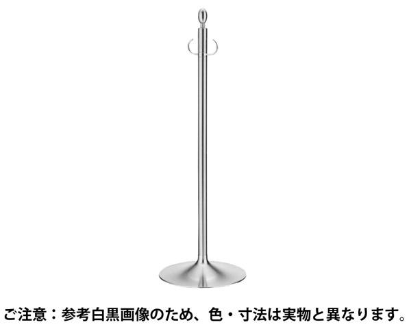FPP-1001 フロアパーティションポールクローム/ヘアーライン【シロクマ】