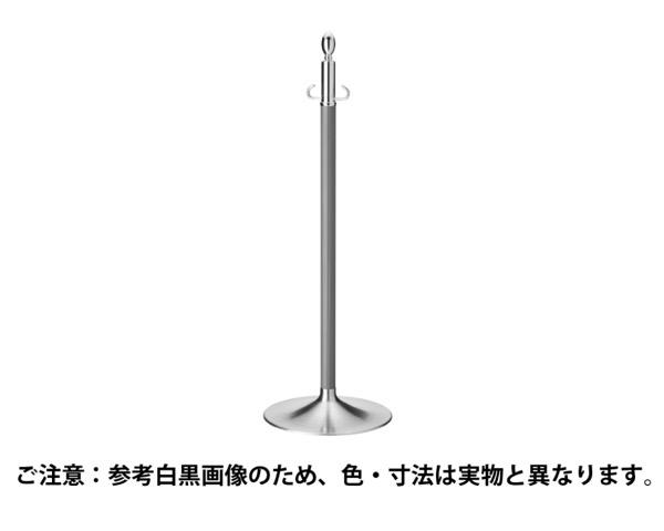 FPP-1115 フロアパーティションポールクローム/アイボリ【シロクマ】
