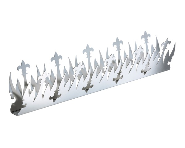 FG-11W リリー忍び返しW形電解研磨【シロクマ】