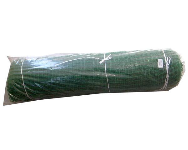 スポーツネットW ゴルフ目(25ミリ目) 巾2M 15M巻 緑 半折巻