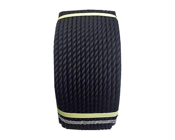 ビニロンロープ 9ミリ (黒) 150M ドラム巻