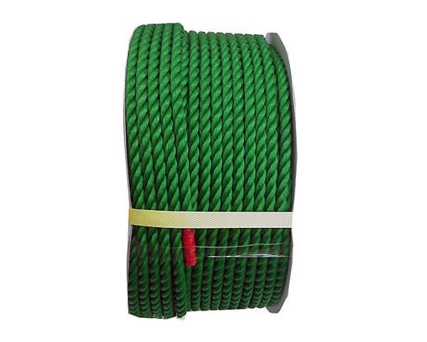 PEロープ 9ミリ 緑 150M ドラム巻