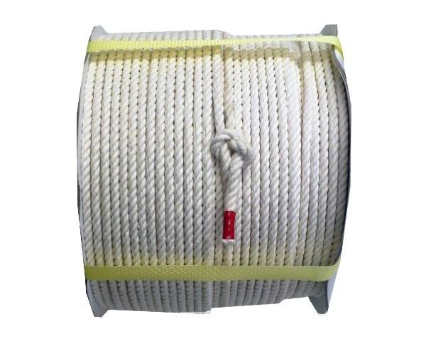 綿ロープ 6ミリ 200M ドラム巻