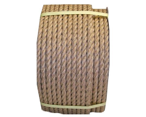 麻(サイザル)ロープ 20ミリ 60M ドラム巻