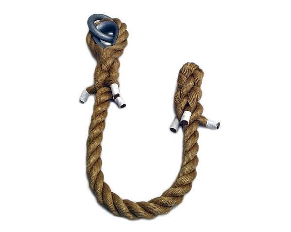 麻製 クライミングロープ 太さ30ミリ径X約3m